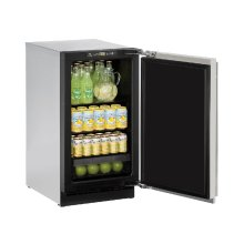 "2000 Series 18"" Solid Door Refrigerator With Stainless Solid Finish and Field Reversible Door Swing (115 Volts / 60 Hz)"