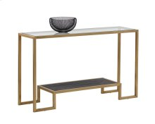 Carver Console Table - Gold