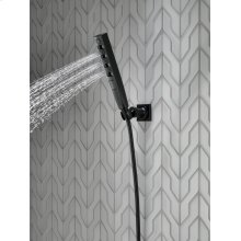 Matte Black H2Okinetic ® 4-Setting Wall Mount Hand Shower