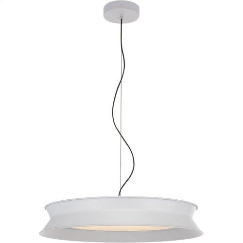 Visual Comfort PB5022STW Peter Bristol 60/40 LED 26 inch Stone White Pendant Ceiling Light