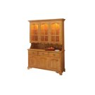 Brookville Hutch Two Full Length Doors Product Image