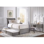 Avignon Grey Twin Bed W/out Trundle