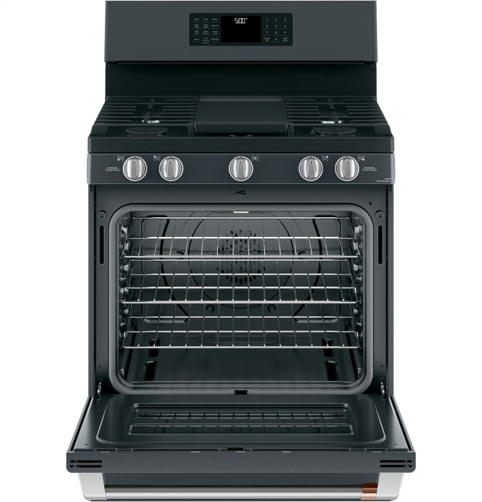 "Caf(eback) 30"" Free-Standing Gas Oven with Convection Range Photo #3"