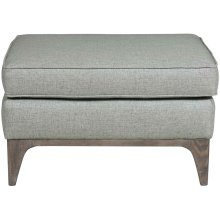 Burnham Ottoman in Cerused Charcoal (795)