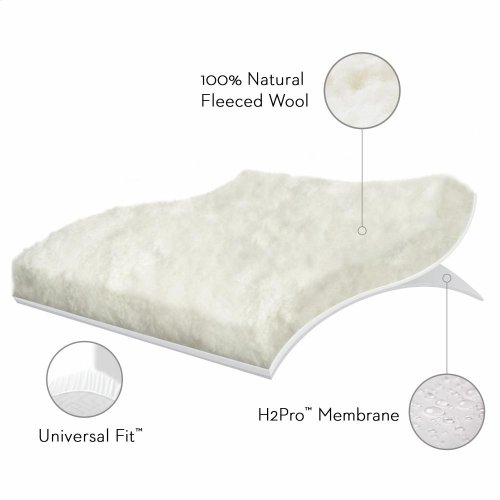 Wool TiteMattress Protector - Twin