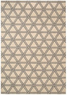 Hollywood Shimmer Ki103 Bisqu Rectangle Rug 5'3'' X 7'5''