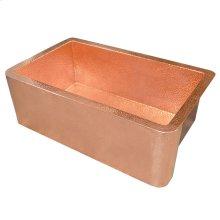 Farmhouse 30 in Polished Copper