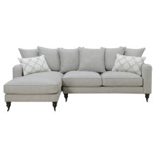 Emerald Home U4176-29-30-09-k Amelie Chofa Sectional, Light Gray
