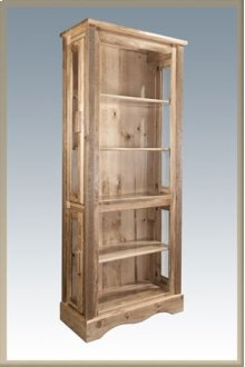 Homestead Curio Cabinet - Stained and Lacquered