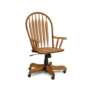 JOHN THOMAS FURNITURE Deluxe Steambent Windsor Arm Chair