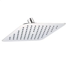 "Chrome Square 8"" Rain Showerhead"