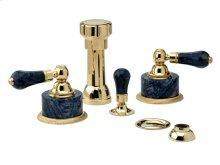 REGENT Four Hole Bidet Set K4272 - Polished Brass