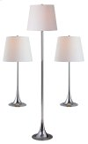 Trapp - 3-Pack - 2 Table Lamps, 1 Floor Lamp
