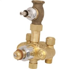 TempShield Thermostatic Pressure Balancing Shower Valve Only