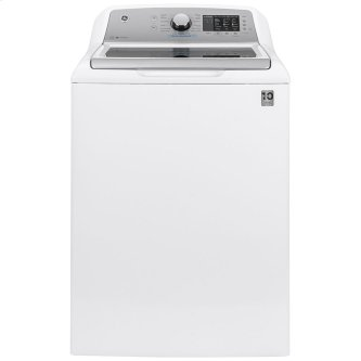 GE™ 5.5 cu. ft. (IEC) Capacity Washer with FlexDispense White - GTW720BSNWS