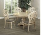 Round Dining Table w/ Leaf & 4 Chairs Product Image