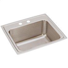 """Elkay Lustertone Classic Stainless Steel 22"""" x 19-1/2"""" x 10-1/8"""", Single Bowl Drop-in Sink"""
