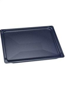 Baking tray, enameled