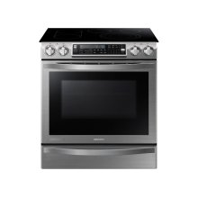 5.8 cu. ft. Slide-In Electric Chef Collection Range with Flex Duo Oven