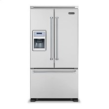 "36"" French-Door Bottom-Freezer Refrigerator with Ice and Water Dispenser"