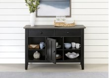 Server - Smoke/Black Finish