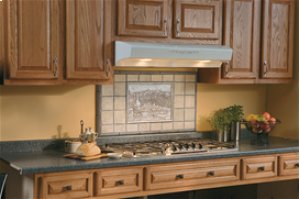 "36"", Bisque-on-Bisque, Under Cabinet Range Hood, 430 CFM"