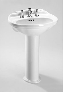 Colonial White Whitney® Pedestal Lavatory