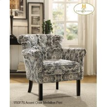 Accent ChairMedallion Fabric
