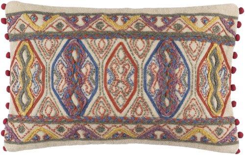 "Marrakech MR-005 14"" X 22"" Pillow Shell with Polyester Insert"