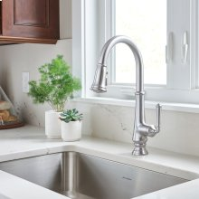 Delancy Pull-Down Kitchen Faucet  American Standard - Polished Chrome