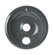 "Range 8"" Porcelain Drip Bowl - Gray Product Image"