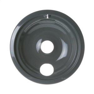 "GERange 8"" Porcelain Drip Bowl - Gray"