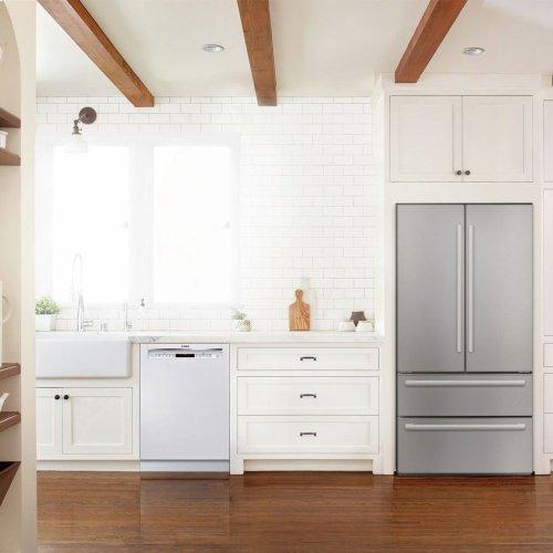 800 Series built-under dishwasher 24'' White SHEM78W52N