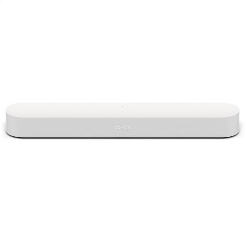White- The smart, compact soundbar for TV, music, and more.