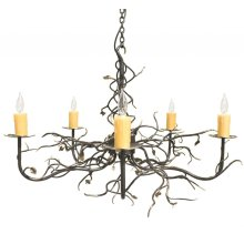 Garden Gate 5 Arm Chandelier