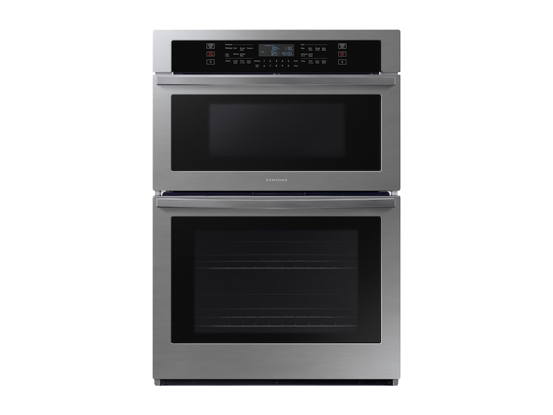 """Samsung Appliances30"""" Microwave Combination Wall Oven In Stainless Steel"""