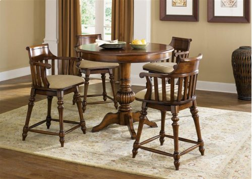 5  pc.Round Pub Table Set