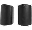 """All Weather Outdoor Loudspeakers with 5"""" Drivers and 3/4"""" Tweeters in Black Product Image"""