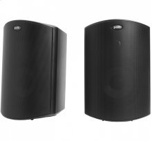 "All Weather Outdoor Loudspeakers with 5"" Drivers and 3/4"" Tweeters in Black"