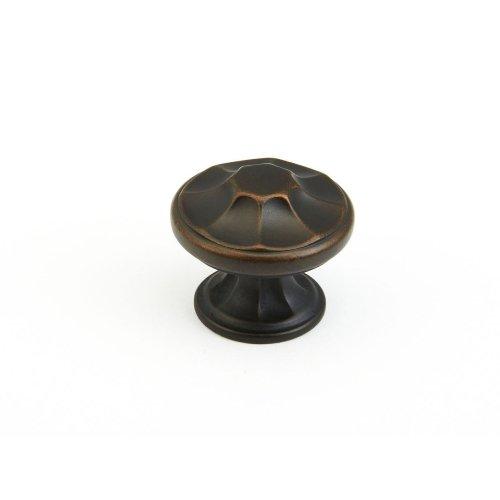 "Empire, Round Knob, 1-3/8"" diameter, Ancient Bronze finish"