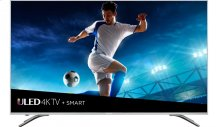 """55"""" class H9 series - Hisense 2018 Model 55"""" class H9E (54.6"""" diag.) 4K UHD Smart TV with HDR, Works with Amazon Alexa"""