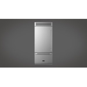 "Fulgor Milano36"" Sofia Pro Fridge - Left Door - stainless Steel"