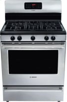 """30"""" Gas Freestanding Range 500 Series - Stainless Steel HGS5053UC Product Image"""