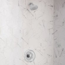 3-Function Shower Head  2.5 GPM  American Standard - Polished Chrome