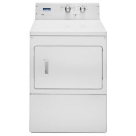 Maytag® Extra-Large Capacity Dryer with IntelliDry® Sensor - 7.4 Cu. Ft. - White