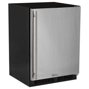 Marvel24-In Built-In All Freezer with Door Style - Stainless Steel, Door Swing - Right