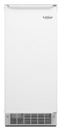 White-on-White Whirlpool® 50 lb. Ice Maker