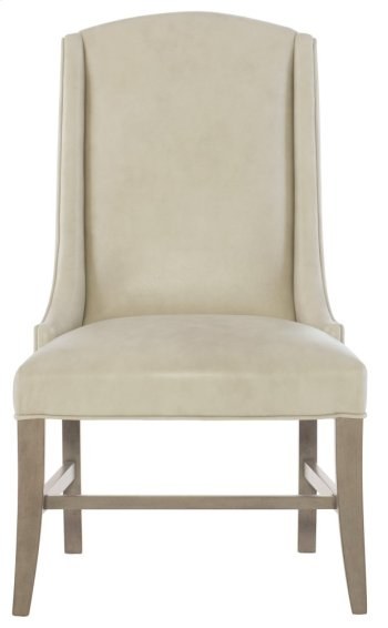 Slope Leather Arm Chair in Smoke Product Image