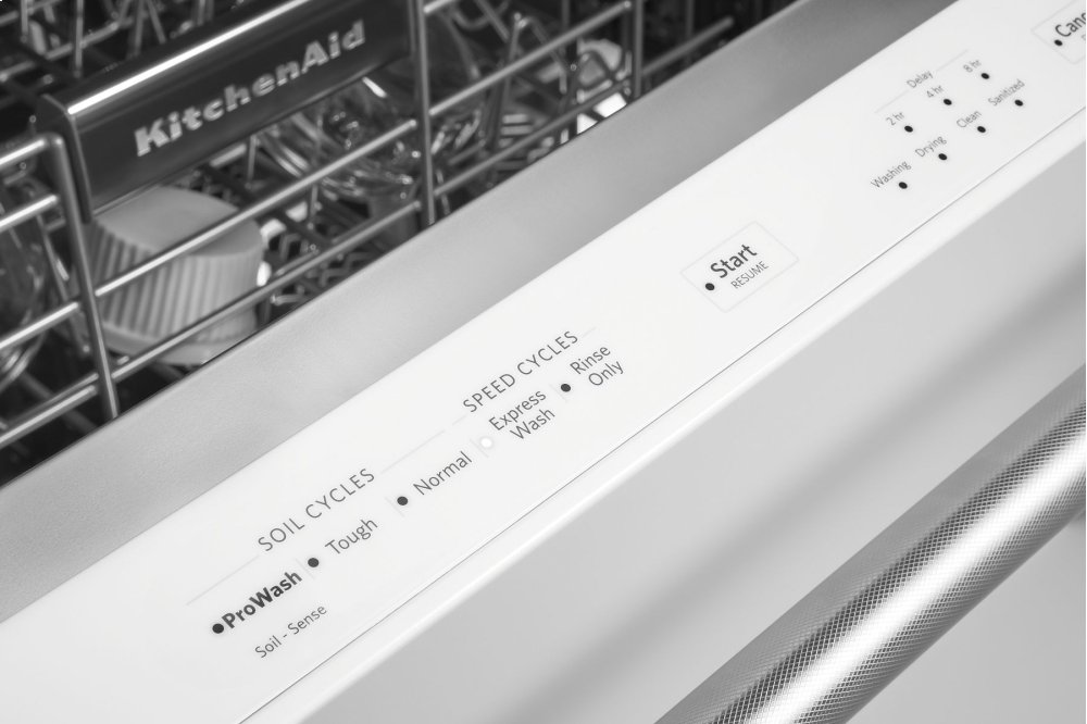 46 DBA Dishwasher with Third Level Rack - White Photo #4