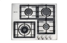 "Stainless Steel 24"" Gas 4 - Burner Designer Series"